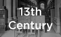 Law teaching in Cambridge began in the 13th Century