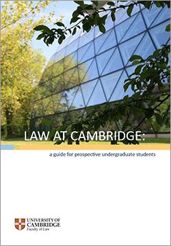 Law Undergraduate Prospectus